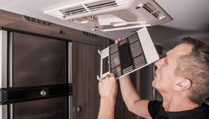 How to Clean RV Air Conditioner Filter