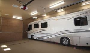 how tall is an rv garage door