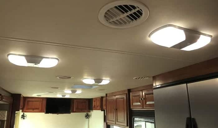 How to change rv interior light bulbs