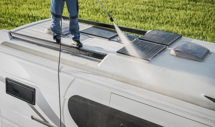 What-do-you-clean-a-fiberglass-camper-with