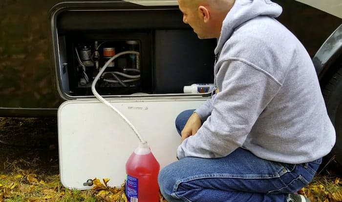 Can-you-use-regular-antifreeze-in-an-RV