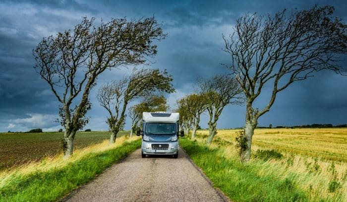 How Much Wind Can an RV Withstand