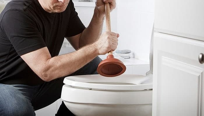 How do you unclog a rv toilet quickly