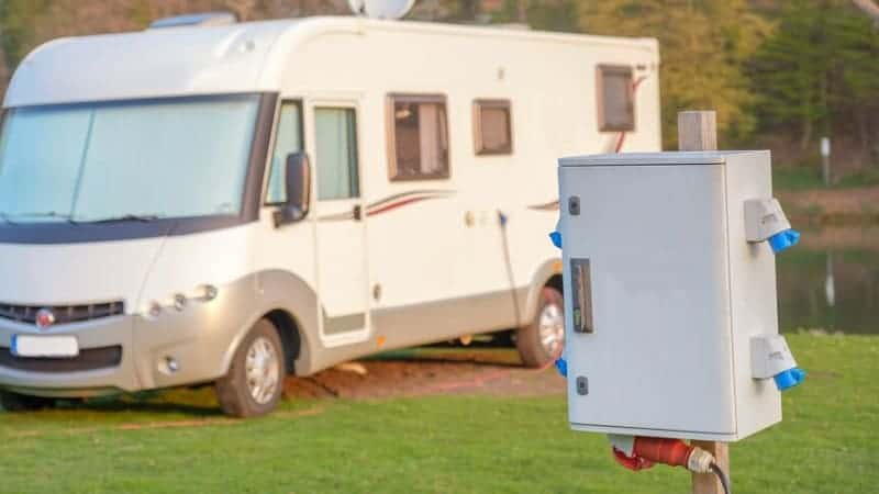 how to install electrical outlet in rv