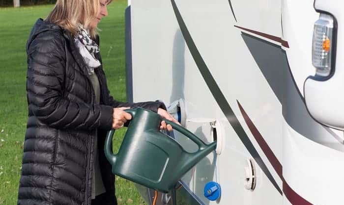 where to fill rv freshwater tank