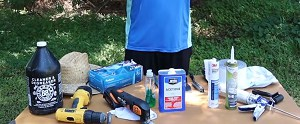 remove-old-caulking-from-travel-trailer